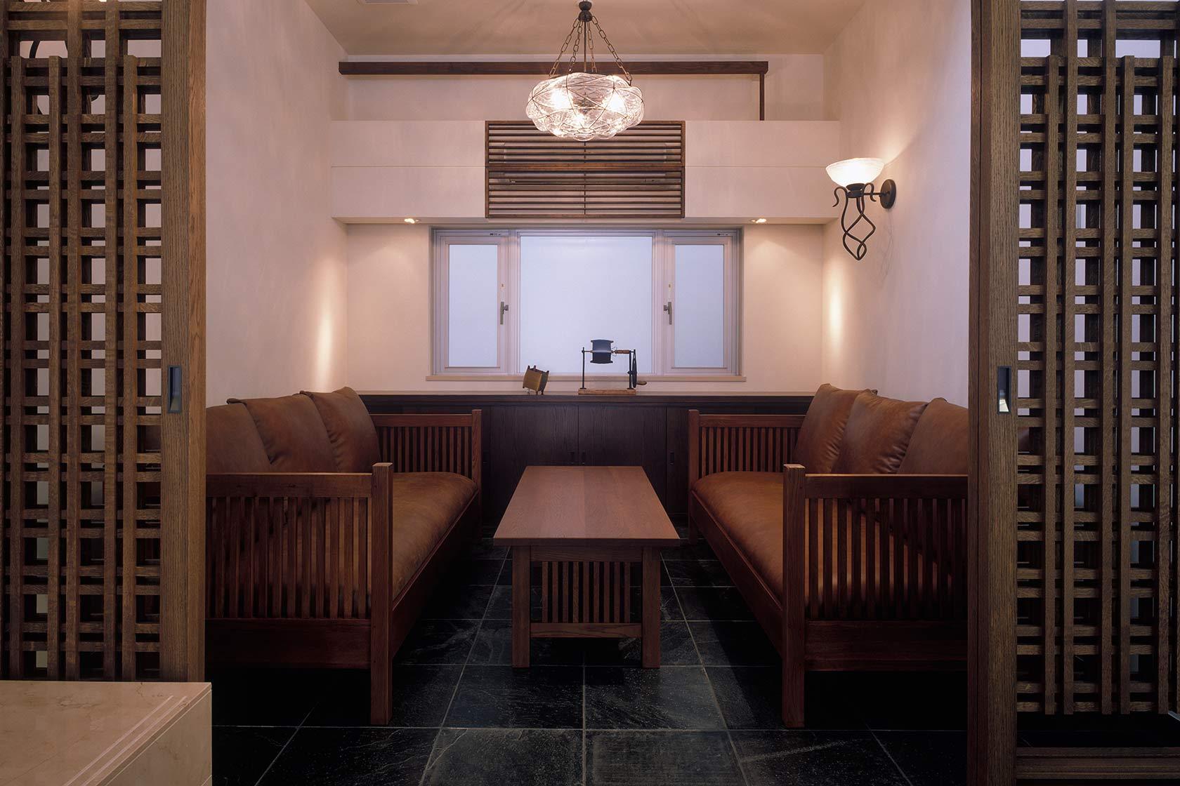 K織物株式会社+K邸13-打合せスペース