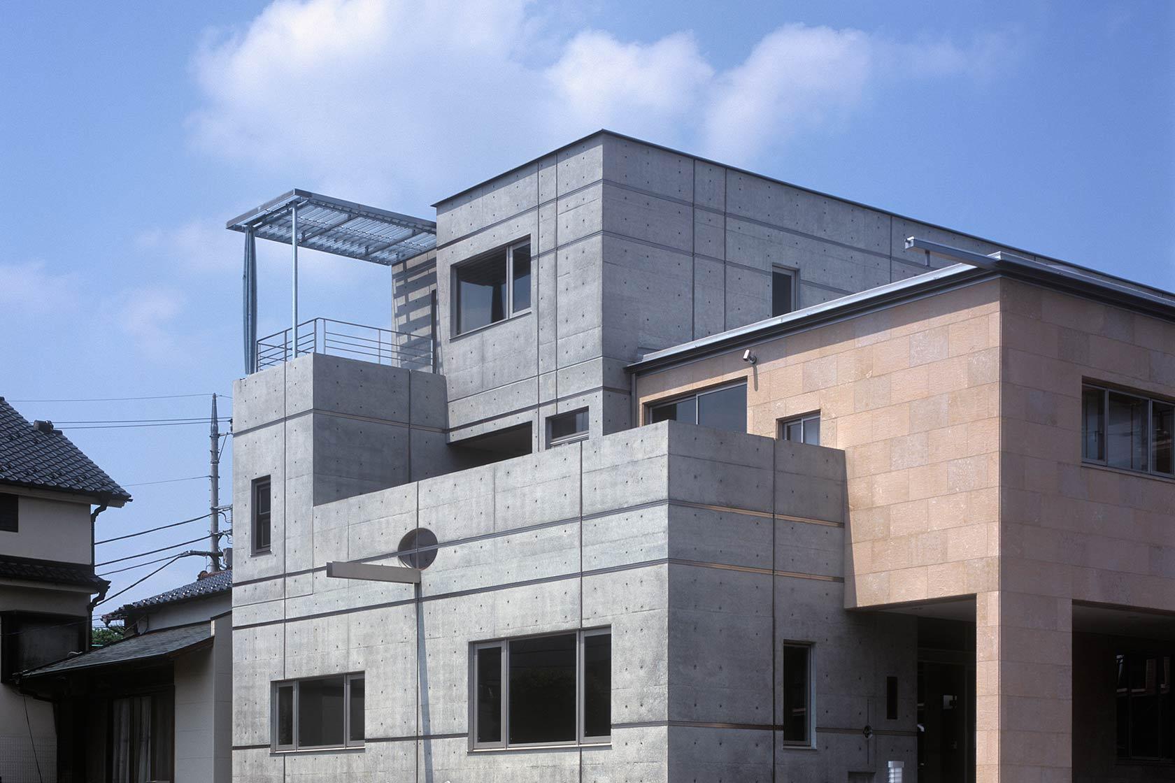 K織物株式会社+K邸6-建物南西部分