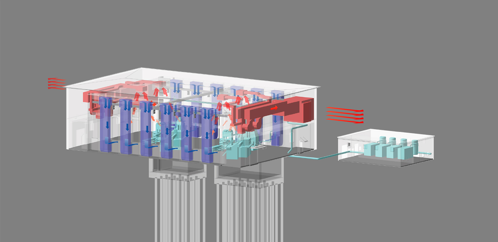 新鍛造工場9-設備アクソメ