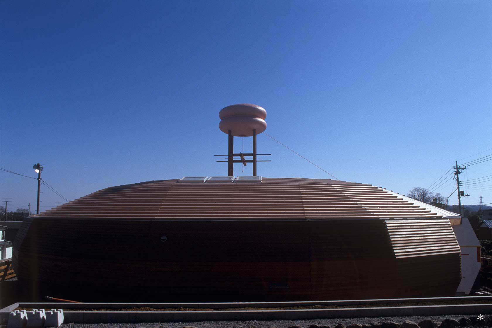 A保育センター8-どろんこ棟 北面外観