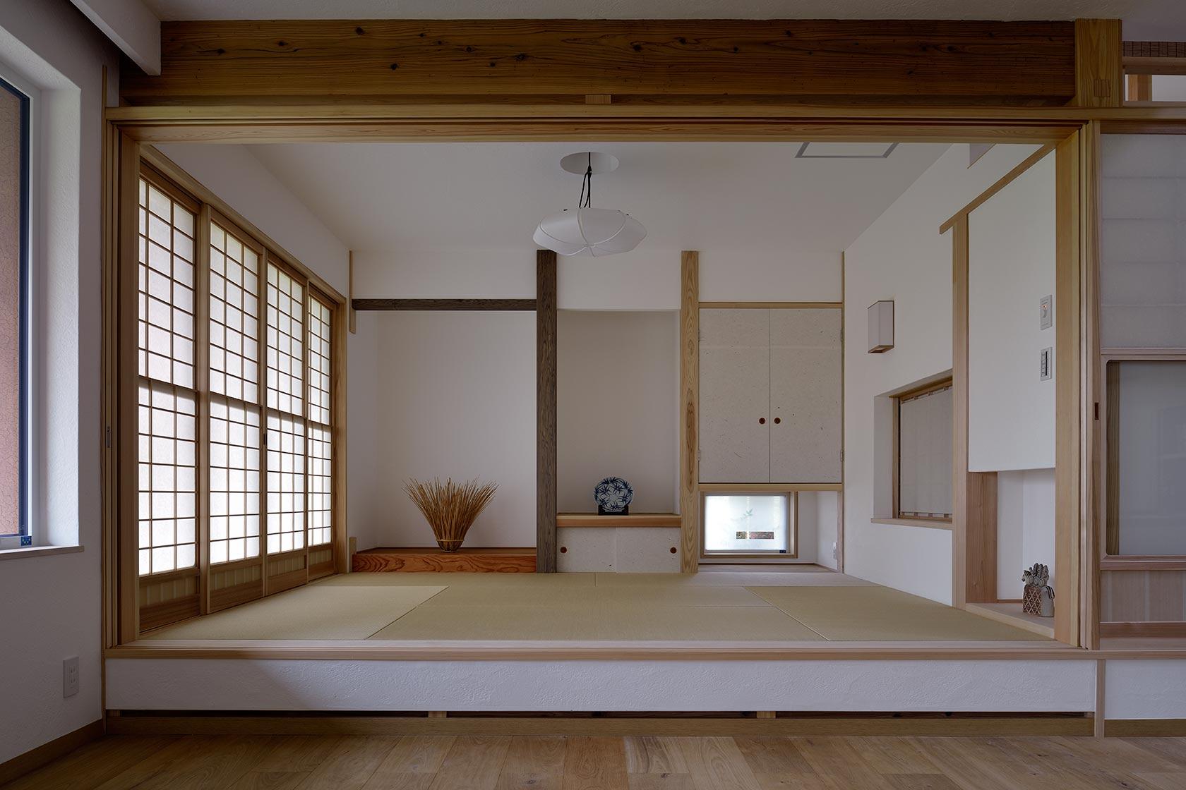 吉野ヶ里の家11-和室
