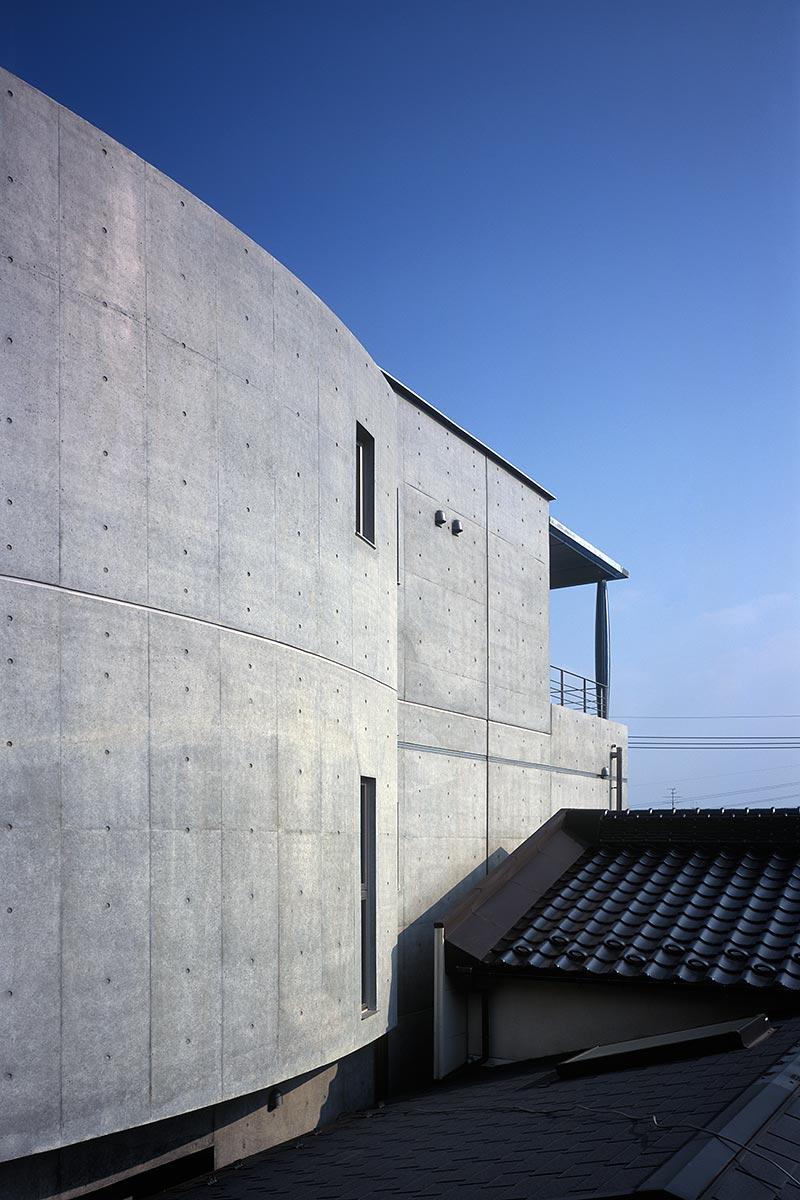K織物株式会社+K邸38-北側外観