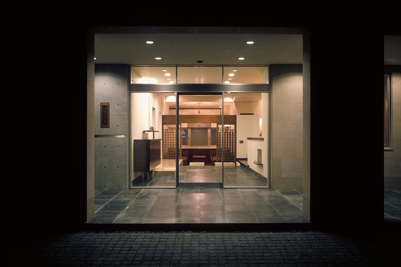 K織物株式会社+K邸23-エントランス外観