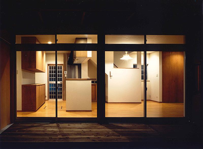 横浜M邸8-親世帯の1階ダイニング キッチン