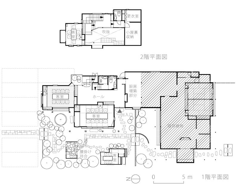 うさぎ屋3-配置平面図