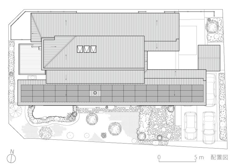 吉野ヶ里の家3-配置図