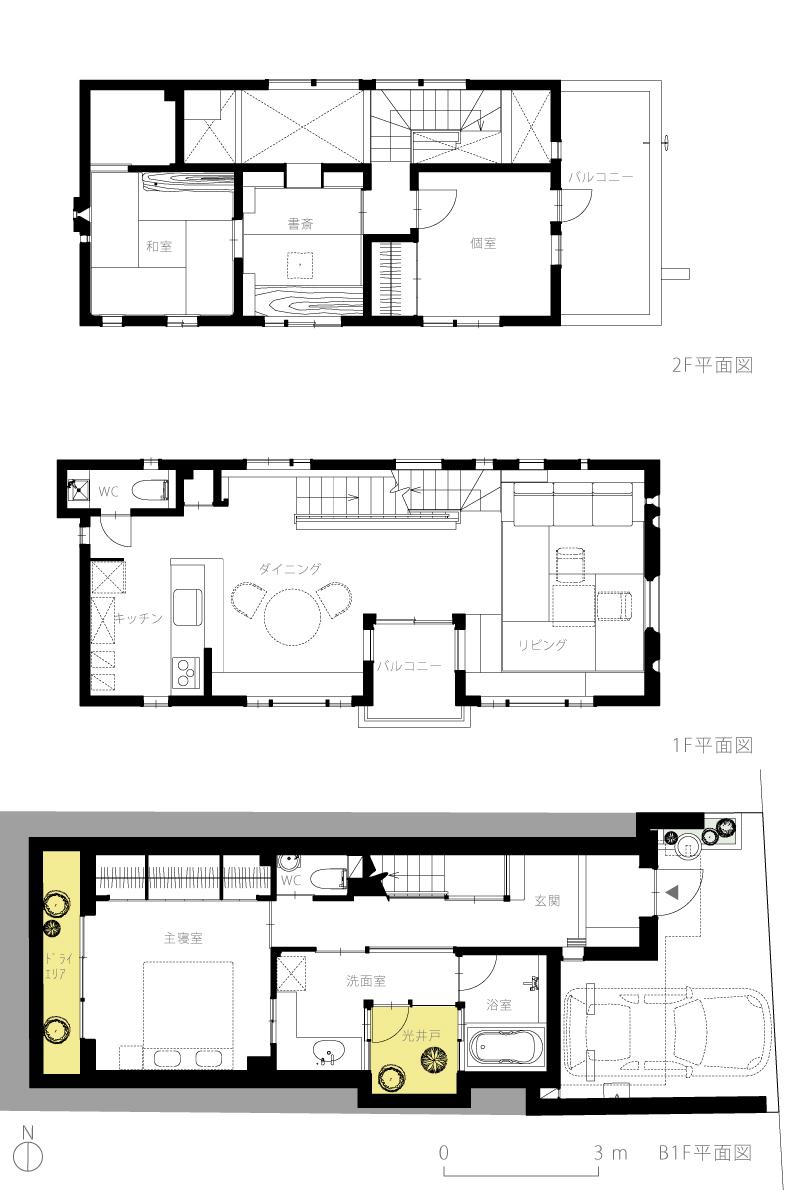 恵比寿N邸5-平面図