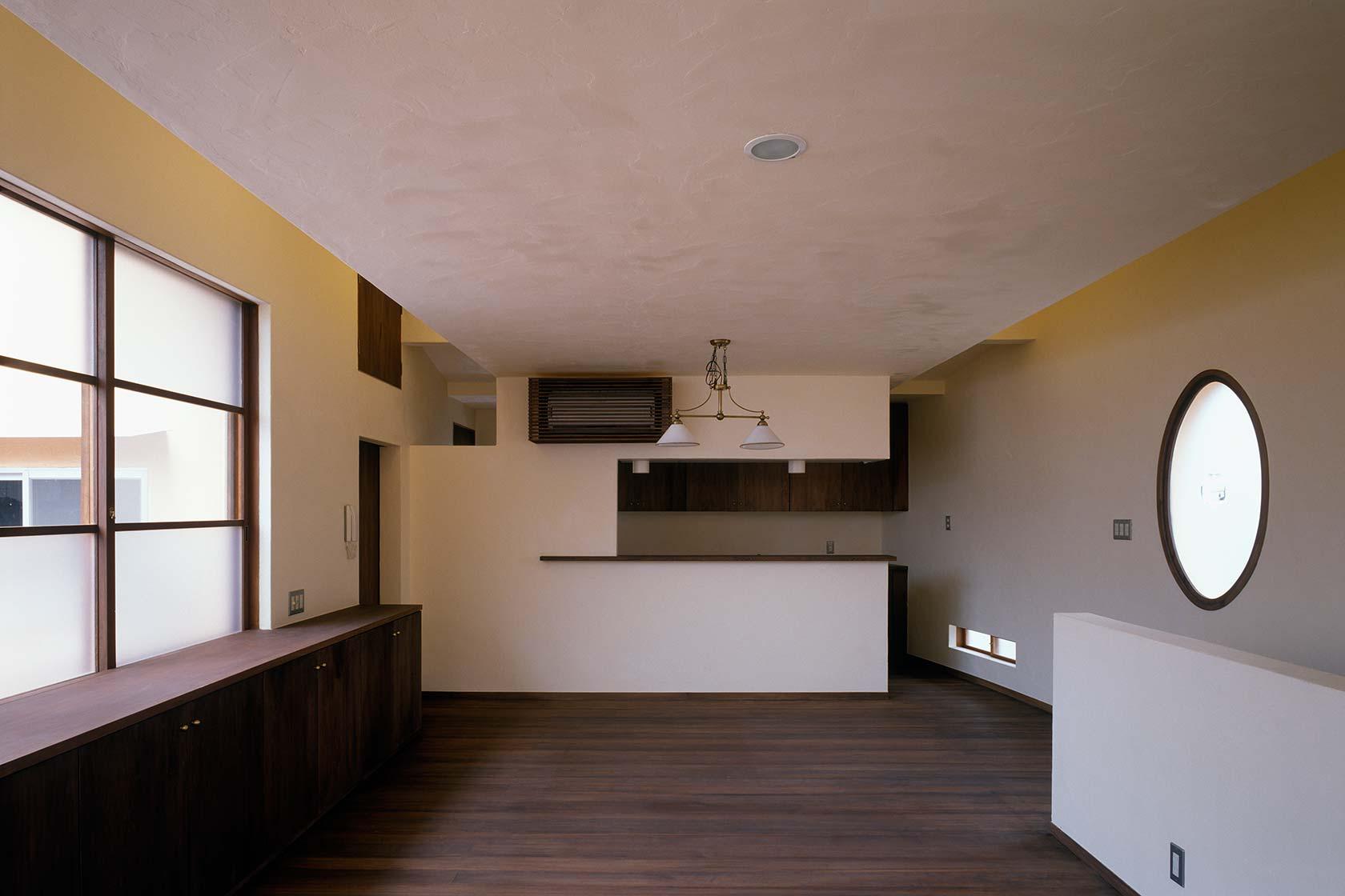 横浜M邸7-子世帯の2階ダイニング キッチン
