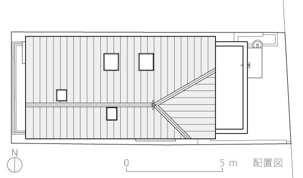 恵比寿N邸3-配置図