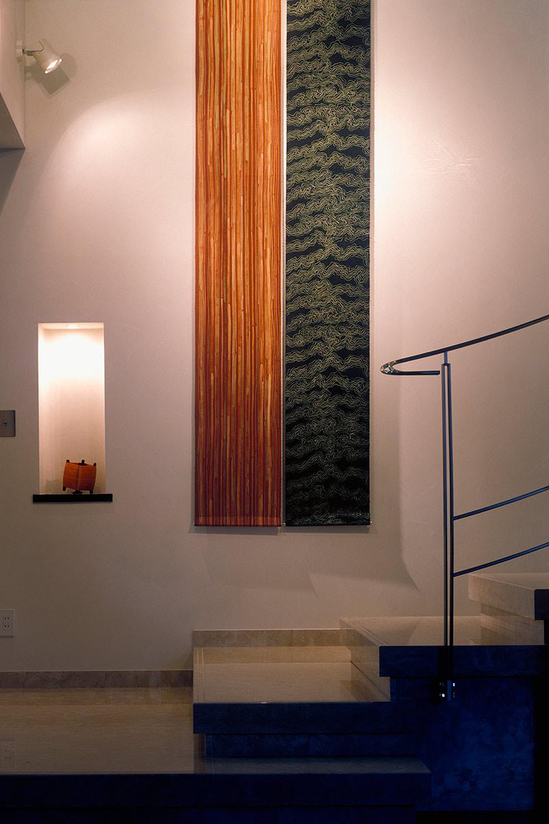 K織物株式会社+K邸16-大理石の階段