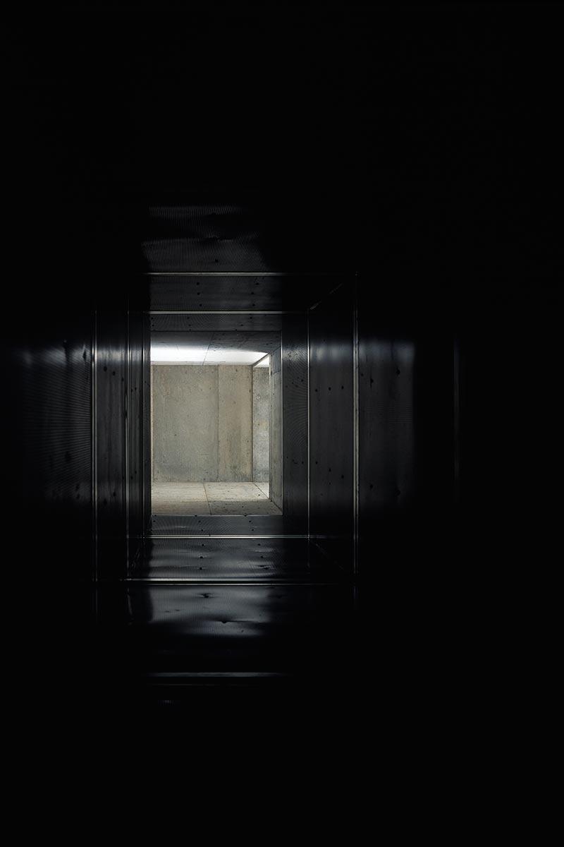 新鍛造工場31-給気シャフト