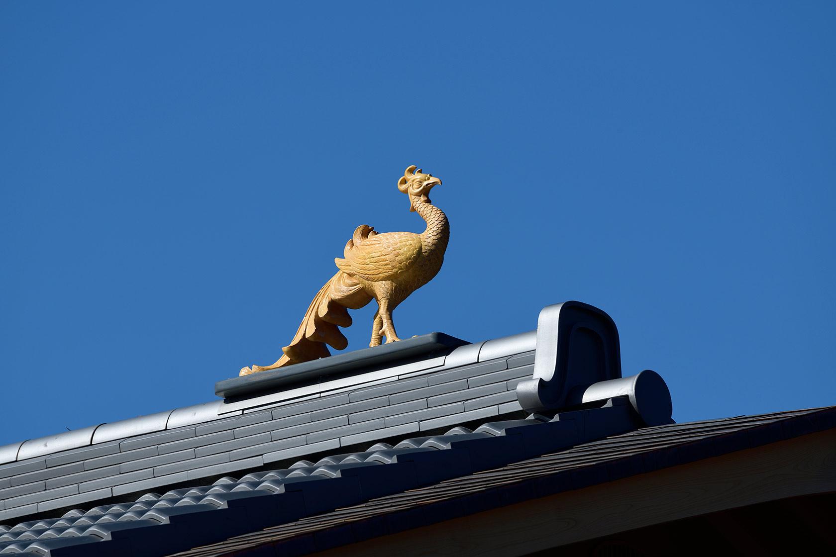 A邸5-屋根の棟部分