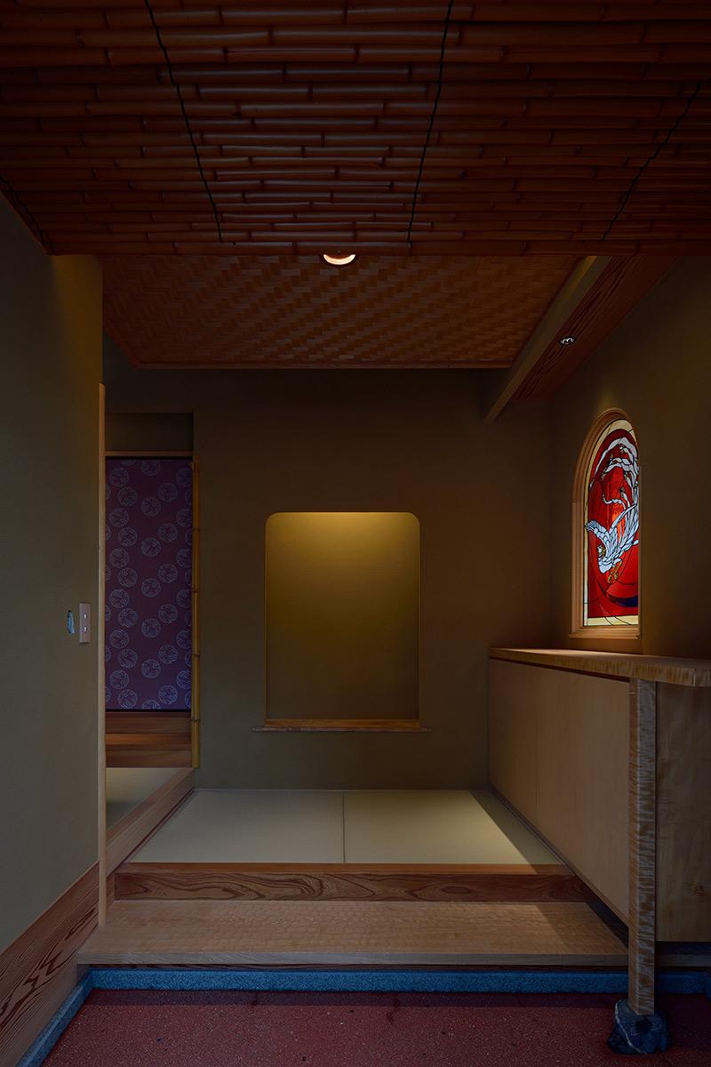 A邸6-玄関内観