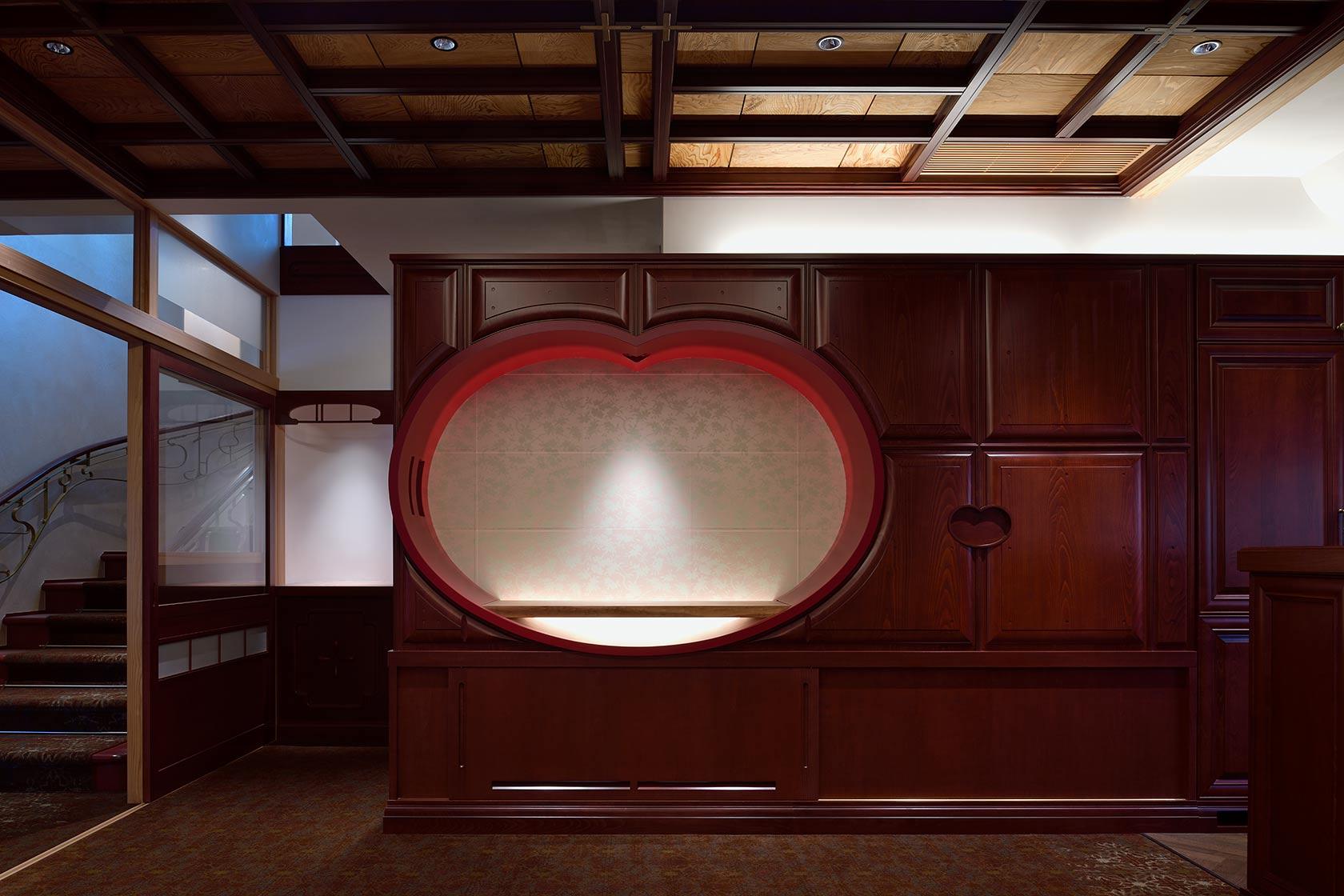 A邸11-ダイニングの飾り棚