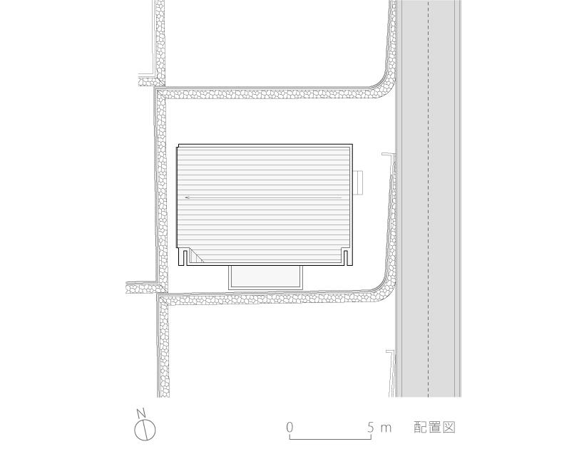 八王子H邸2-配置図