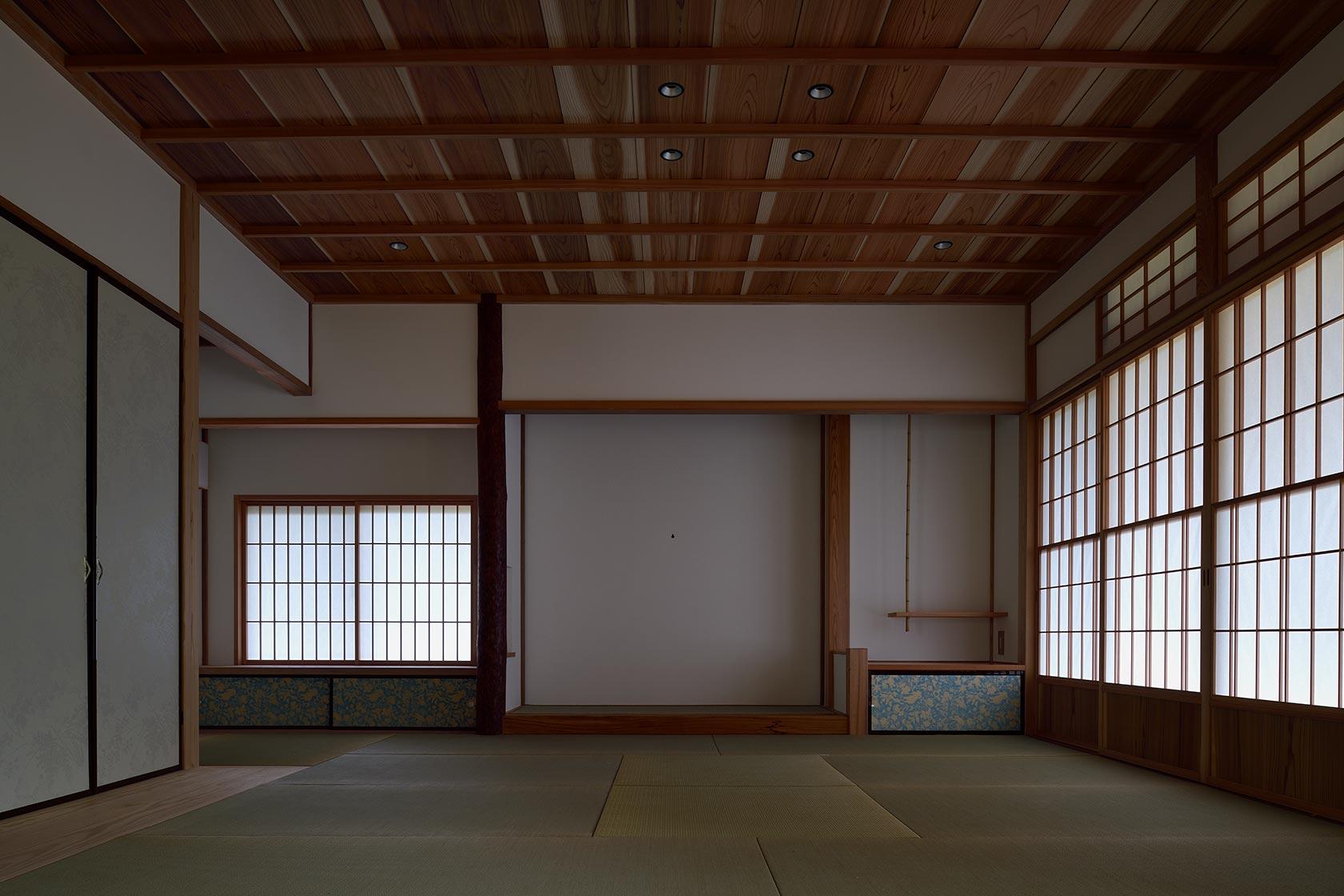 神奈川K邸19-和室東面