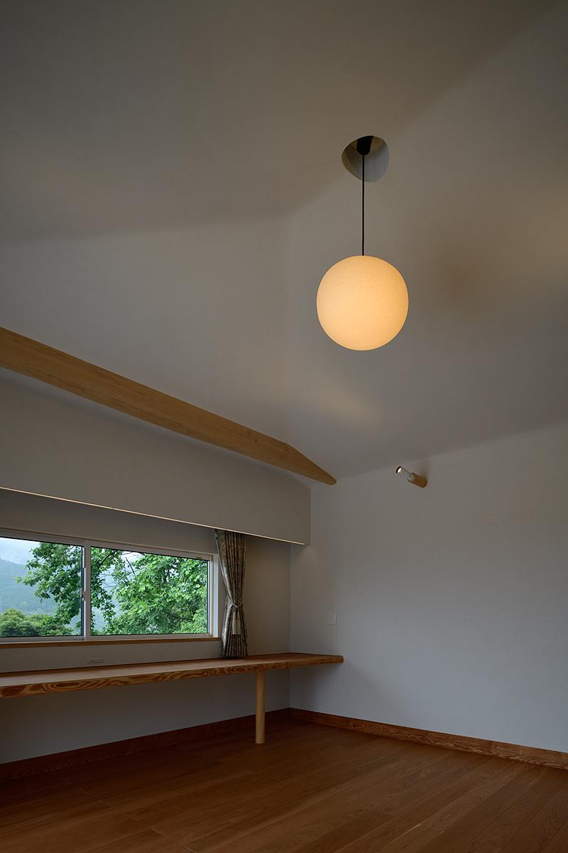 神奈川K邸26-2階寝室
