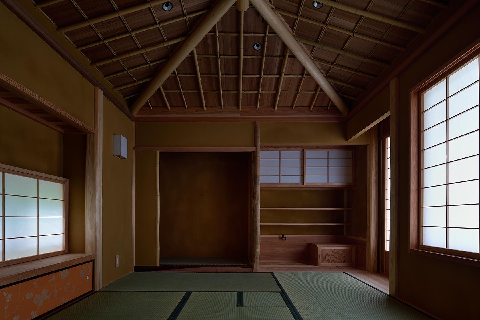 神奈川K邸23-茶室