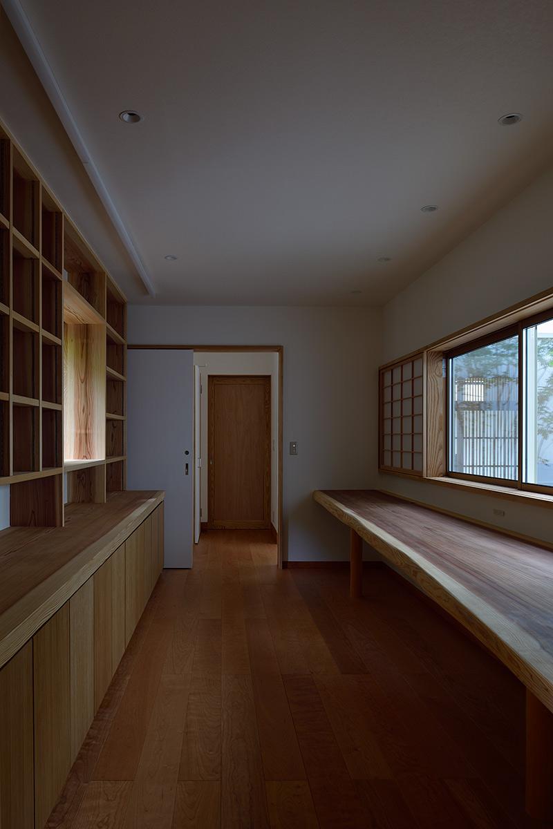 神奈川K邸20-書斎