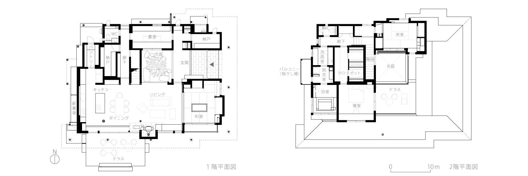 神奈川K邸7-平面図