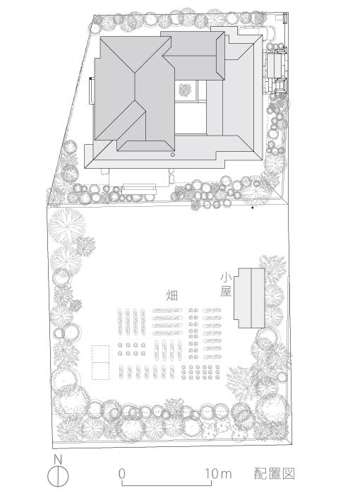 神奈川K邸2-配置図