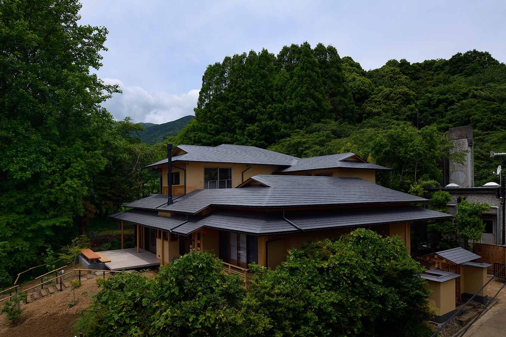 神奈川K邸3-南東からの外観
