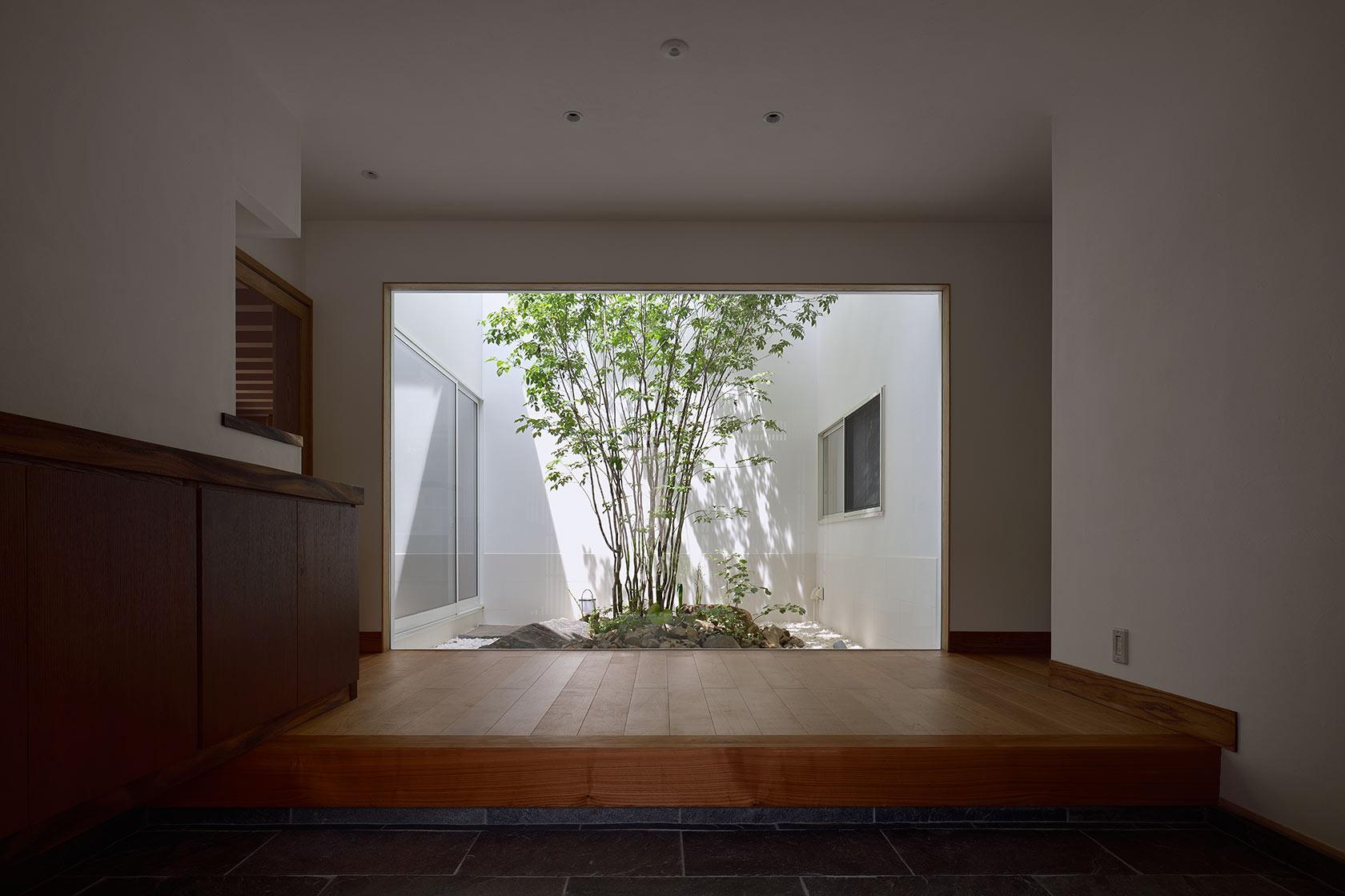 神奈川K邸6-玄関内部