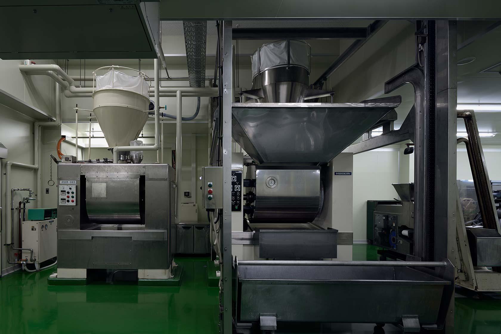 イチマツ食品瑞穂町新工場9-2代のミキサー