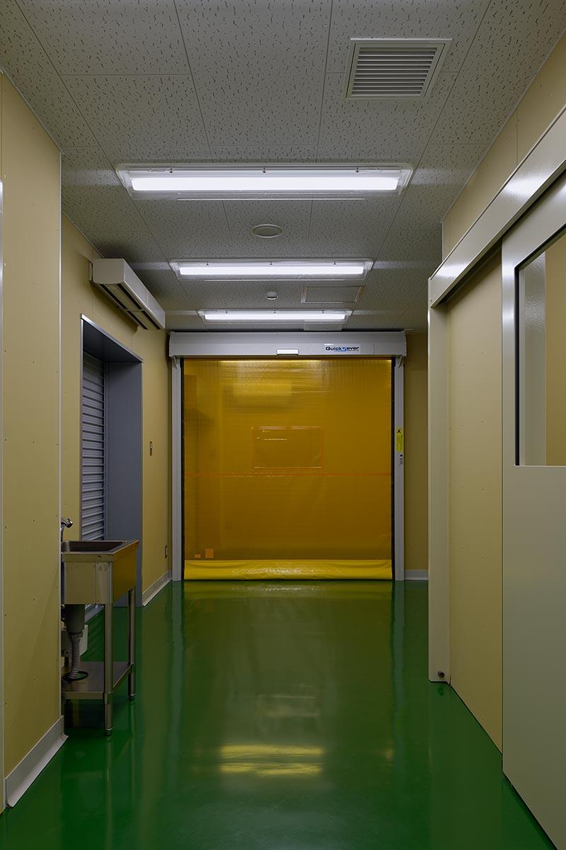 イチマツ食品瑞穂町新工場4-検収室