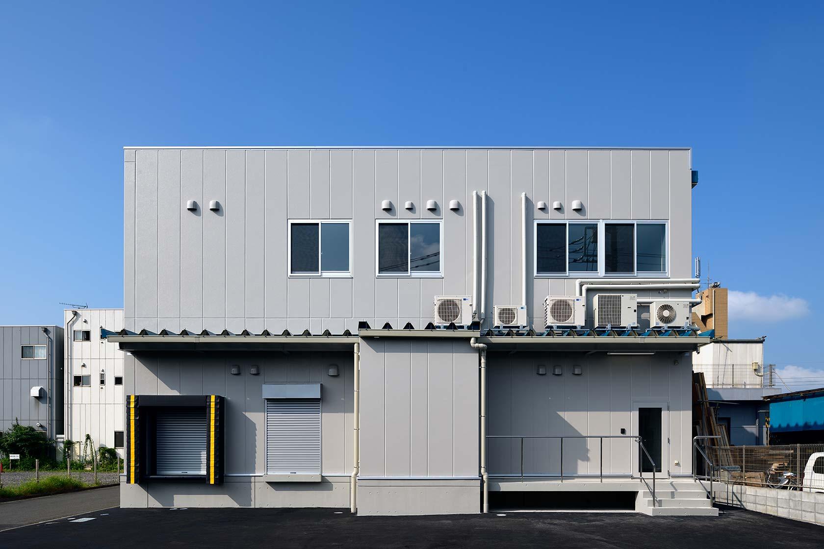 イチマツ食品瑞穂町新工場2-北面外観