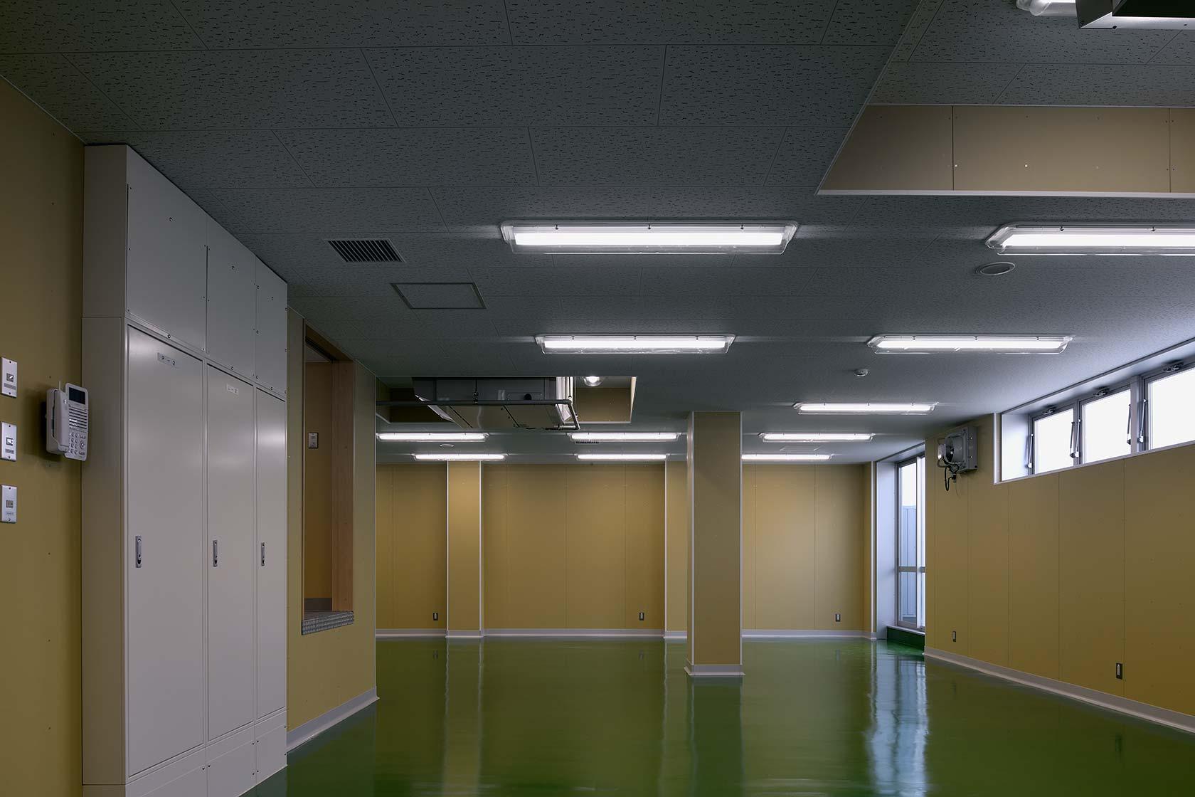 イチマツ食品瑞穂町新工場13-包装・製品保管室