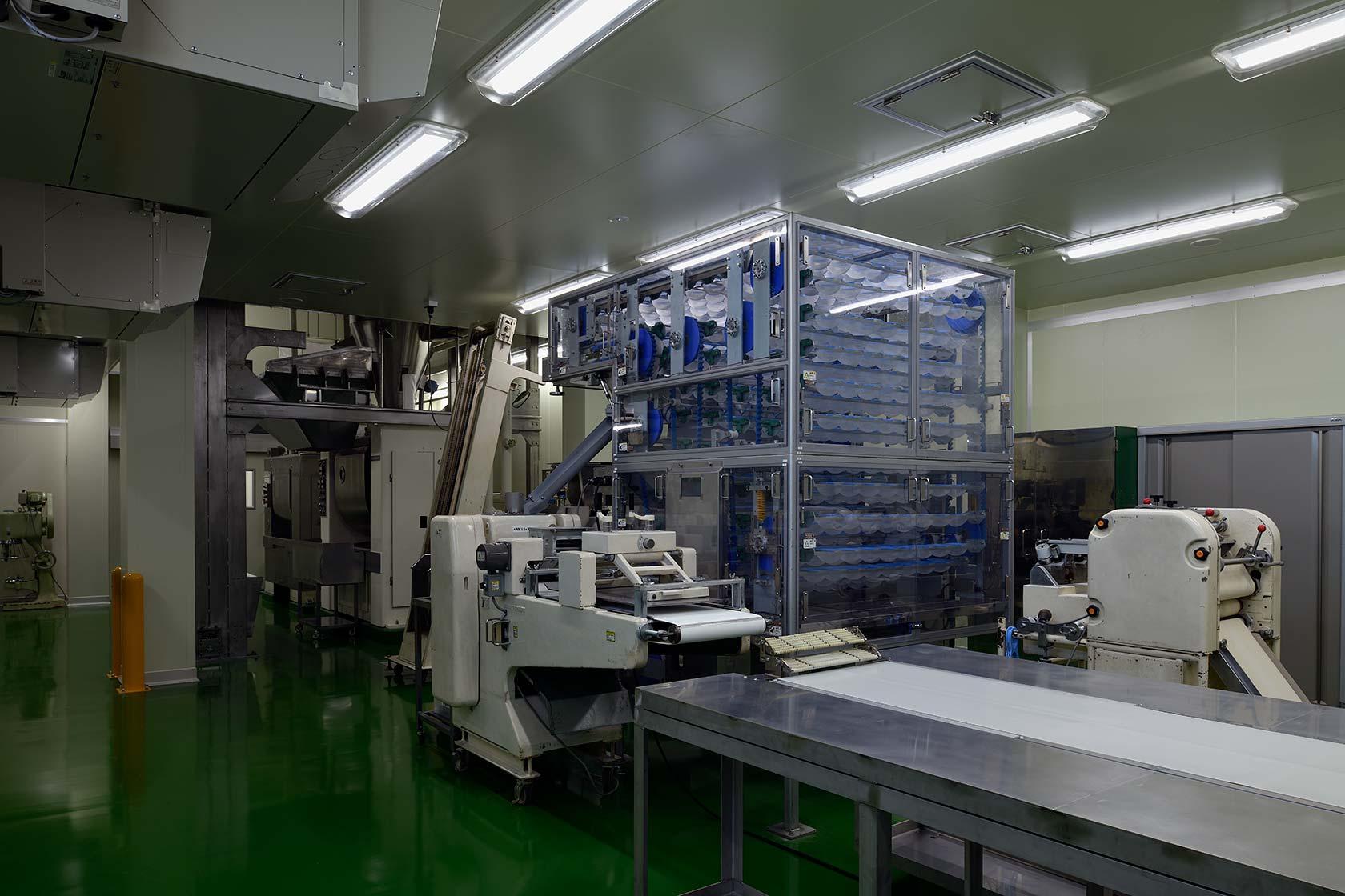 イチマツ食品瑞穂町新工場10-生産機械