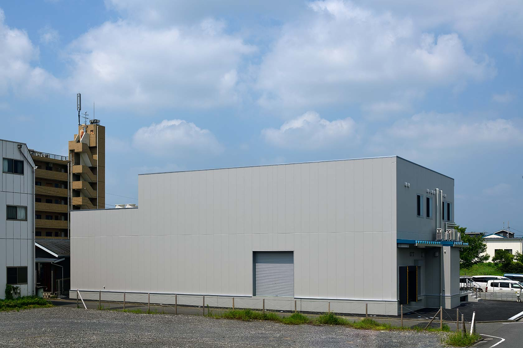 イチマツ食品瑞穂町新工場14-防音対策