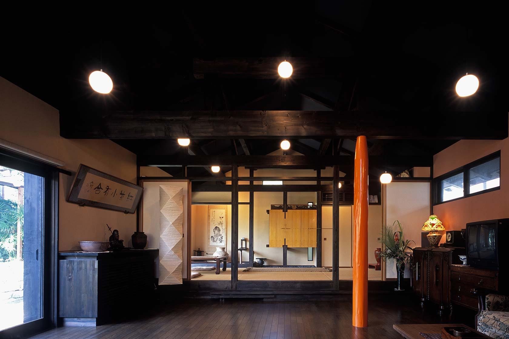 静岡H邸10-リビング内観