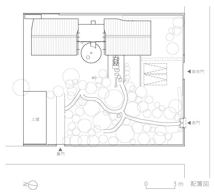 静岡H邸3-配置図
