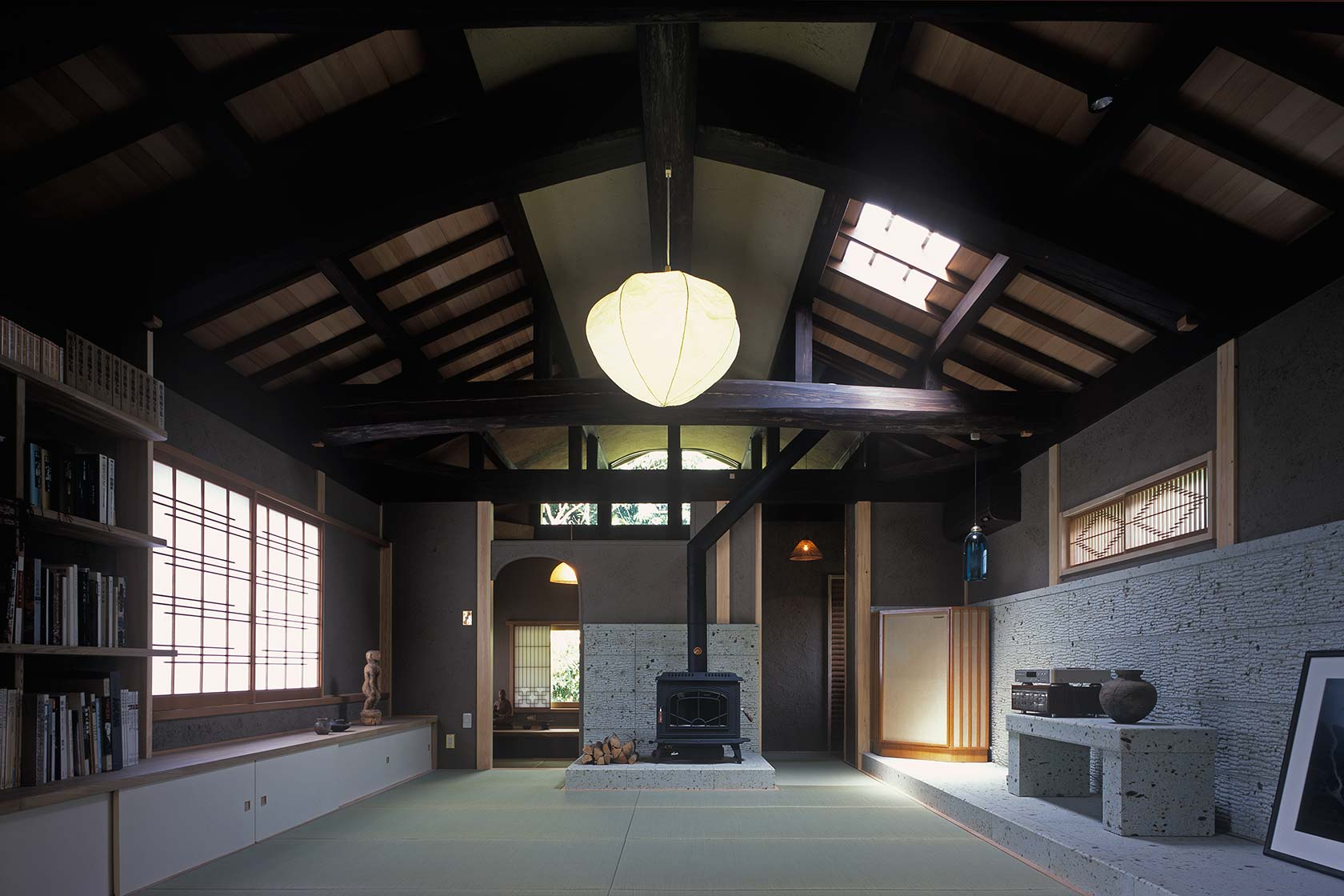 京都U邸9-2階居間