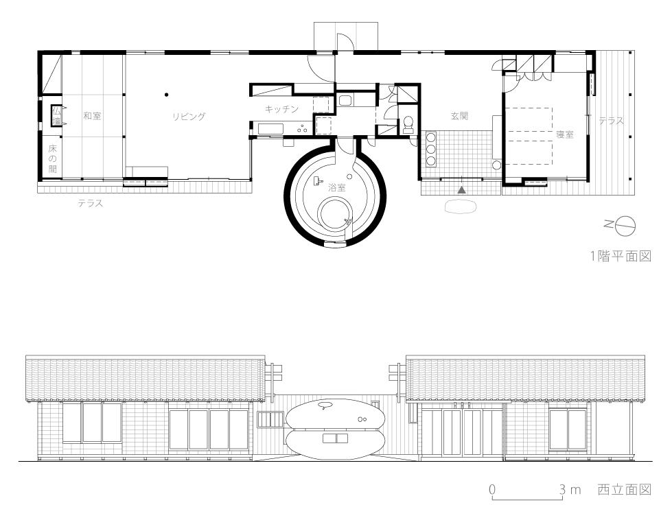 静岡H邸9-平面